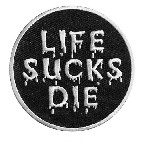 "scumbags&superstars""Life Sucks Die Patch"""