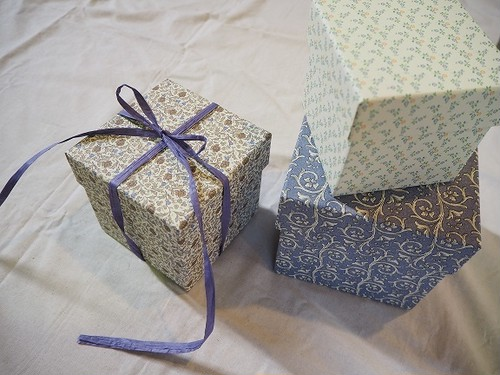 【CartaVarese】Square box set(flower)