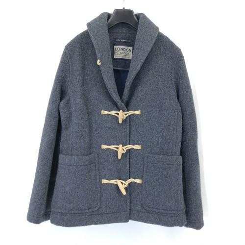 Women's【LONDON TRADITION】 Shaggy Wool Short Duffle Coat