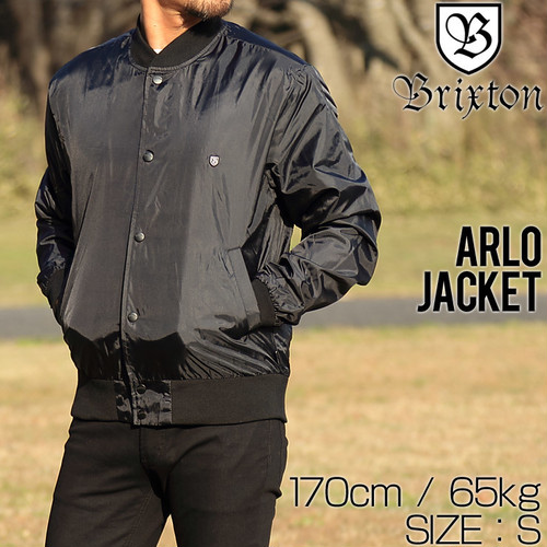 [クリックポスト対応] BRIXTON ブリクストン ARLO JACKET ボンバージャケット 03196