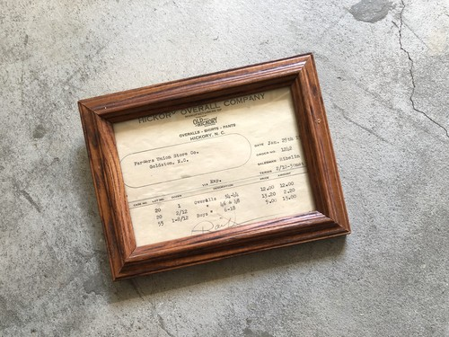 Vintage AD Frame Box-5 OLD HICKORY