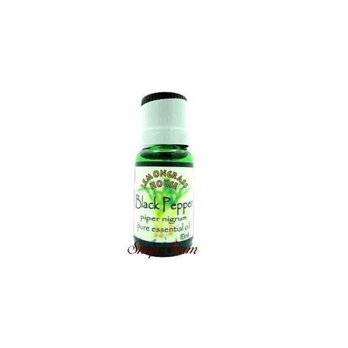 【LEMONGRASS HOUSE】 ブラックペッパー/Black Pepper 100%アロマオイル 10ml