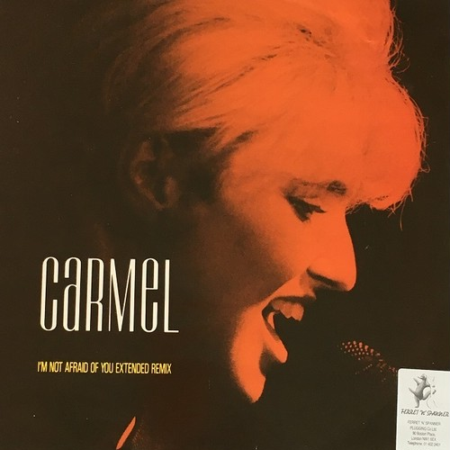 【12inch・英盤】Carmel / I'm Not Afraid Of You (Extended Remix)