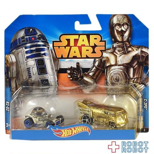 ホットウィール スター・ウォーズ R2-D2 & C-3PO セット