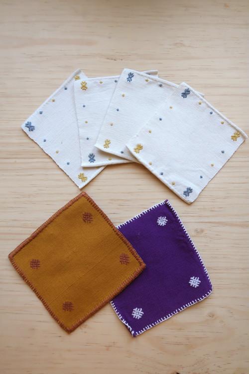 織物コースター sencillo