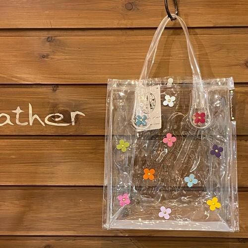 【6月限定価格¥2,750→¥2,200】クリアビニールバッグ(マルチカラーB5サイズ)No.212