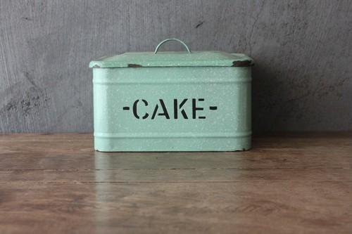 ホームプライド CAKE缶 グリーン