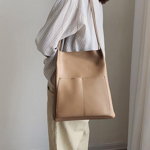 PU leather tote bag PU レザー トート バッグ