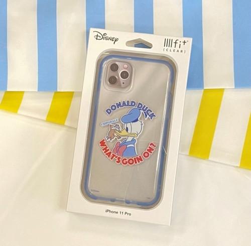 ディズニー、ディズニー/ピクサーキャラクター/IIIIfit (clear) iPhone11 Pro対応ケース