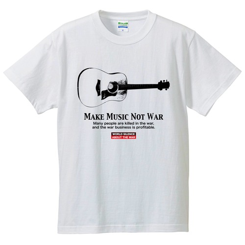 MAKE MUSIC NOT WAR : 4【FULL COLOR  / T-SHIRT】
