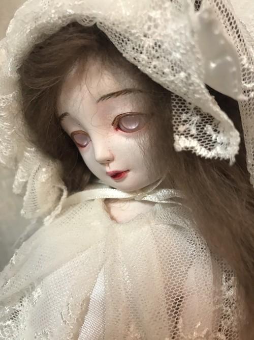 森川キヲ作 睡蓮 球体関節人形 創作人形