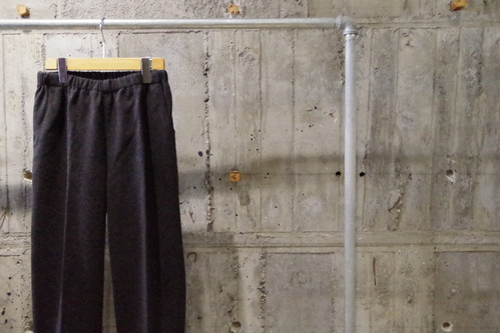 Design knit easy slacks(USED)