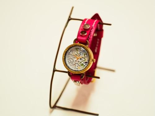 【限定】雪の結晶の時計