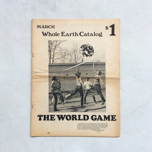 Whole Earth Catalog March 1970