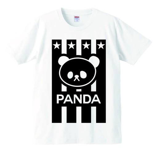 Tシャツ・ストライプ白
