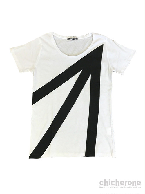 【ARHBK】ARROW TEE Ladies WHITE