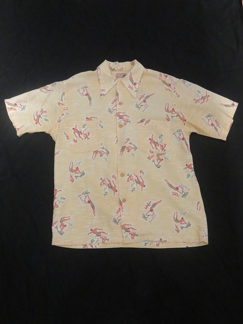 40's McGREGOR S/S Hawaiian Shirt