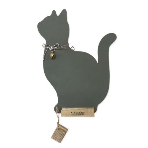 猫黒板(キャットシルエット)
