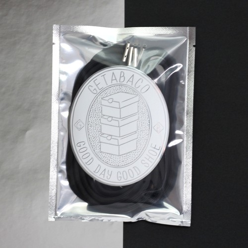 [beauty & youth別注] METAL TIP ROPE LACES [BLACK/SILVER]