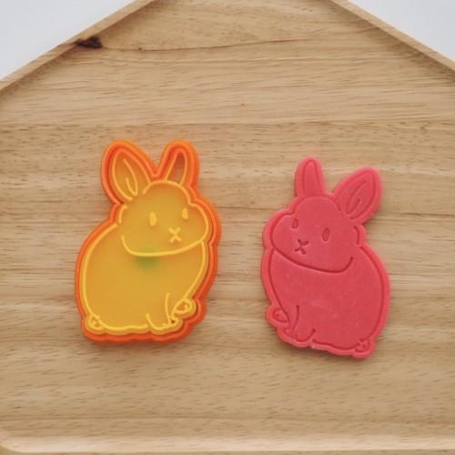 ウサギ ちょっと小さめ クッキー型