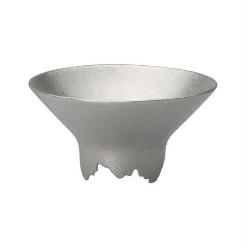 SHIKICOLORS Silver Sake Cup
