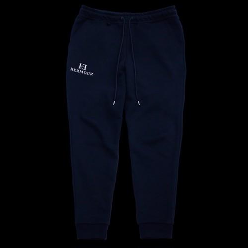 HE-046   BLANC NOIR SWEAT PANTS