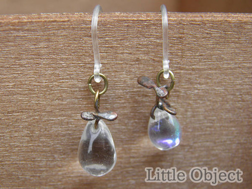 ピアス - drops ピアス - Little Object