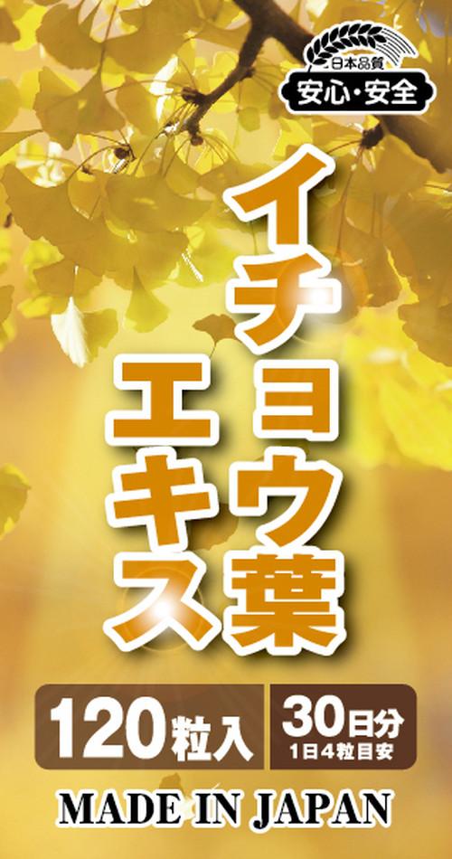 ミニサプリ イチョウ葉エキス 120粒(30日分)