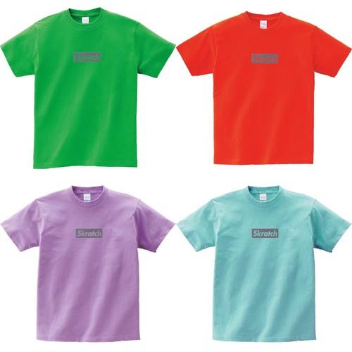 Skratch Reflector BOX LOGO TEE スクラッチリフレクター Tシャツ