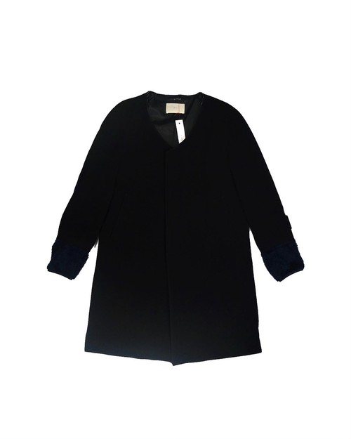 remake cashmere switching coat