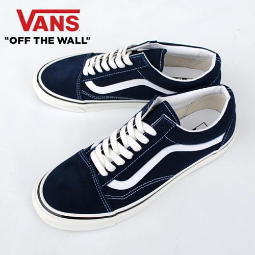 VANS バンズ ヴァンズ オールドスクール メンズ スニーカー Old Skool 36 Dx (Anahaim factory) Dress Blues