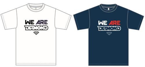 スクールTシャツ「WE ARE」ネイビー