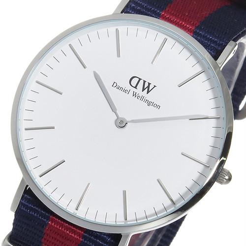 ダニエルウェリントン 腕時計 CLASSIC OXFORD 40 シルバー dw00100015 dw00600015 0201DW ホワイト ブルー レッド ホワイト