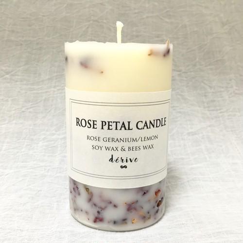rose  petal candle