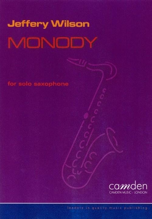 ウィルソン:モノディ/サクソフォーンソロ