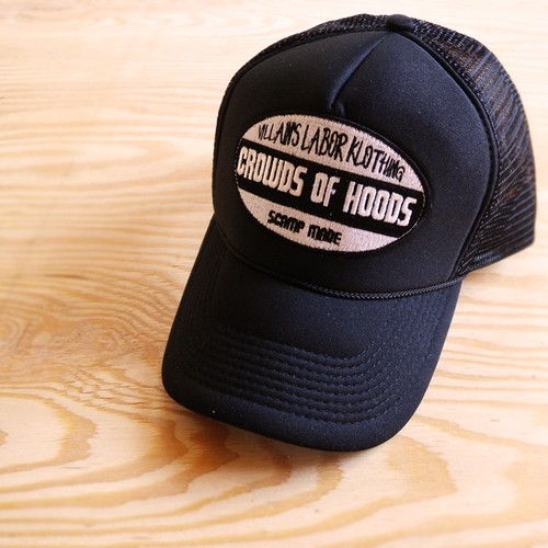 CROWDS OF HOODS MESH CAP