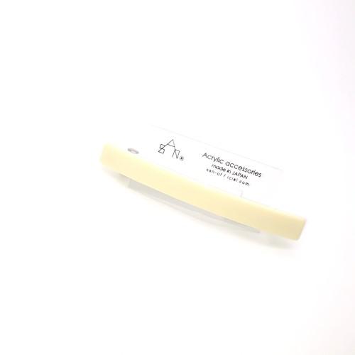 sAn bar barrette (バーバレッタ L ) アイボリー
