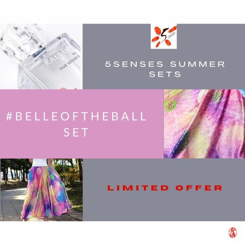 5 SENSES SUMMER SETS #belleoftheball (incl.tax)