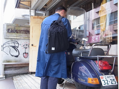 hellolulu/GLENN 2way REVERSIBLE BAG