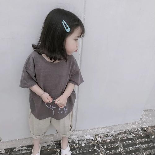 かいじゅう刺繍TEE【T075】
