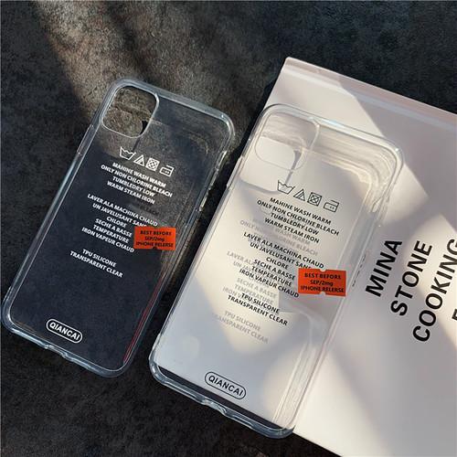ランドリータグiPhoneケース
