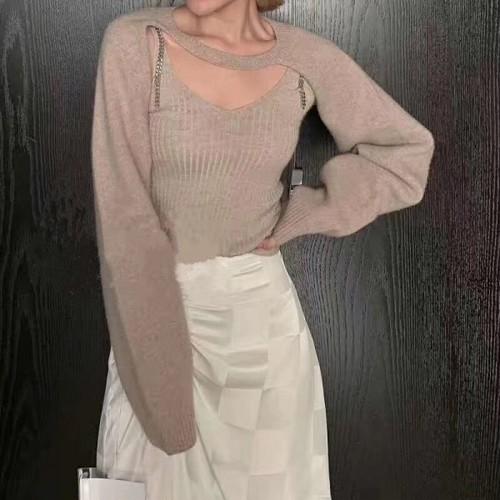 Lume2wayニットセット ニット 韓国ファッション