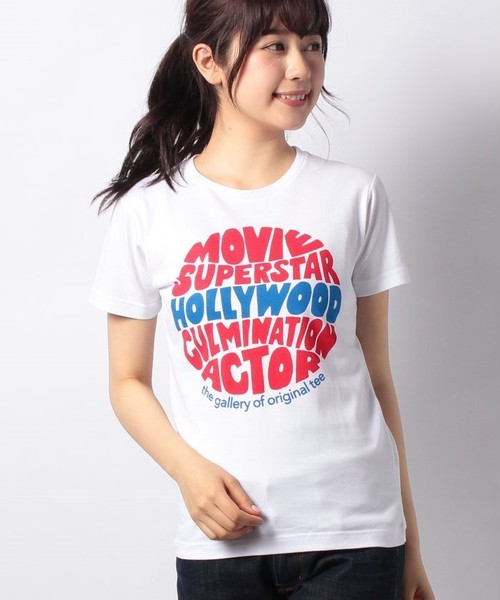 #744 Tシャツ HOLLYWOOD