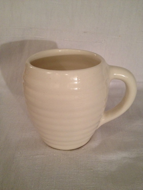 COFFEE MUG(BAUER POTTERY)   #WHITE