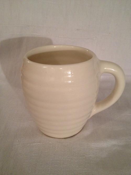 COFFEE MUG(BAUER POTTERY)   #WHITE