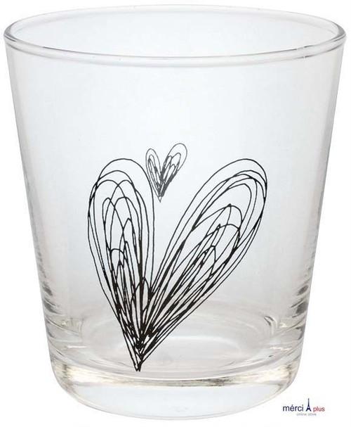 SCRAWL HEART(BK)