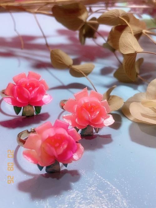 sweetアンティークシリーズ桃色の恋の薔薇