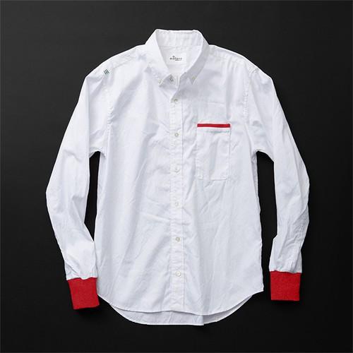 メンズ standard 白×赤+P