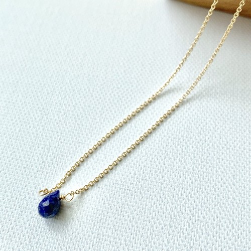 ishi jewelry Natural Stone Necklace / LAPIS LAZULI
