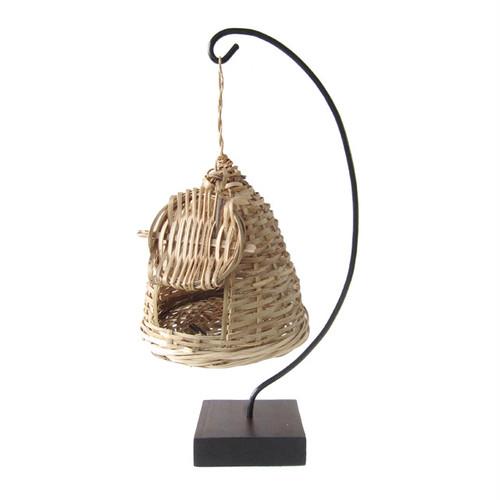 ポパイ&ソトコト掲載  ナイジェリアの鳥かごハンガー / Nigerian Birdcage Hanger